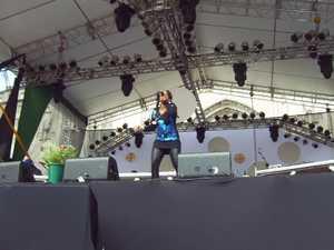 Show na Praça da Sé