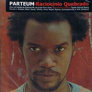 Capa do Disco Raciocinio Quebrado