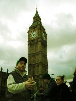 Fe e o Big Ben (Londres)